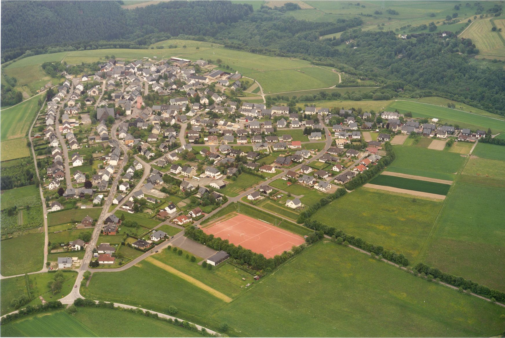 Luftbild Thomm