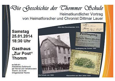 Geschichte der Thommer Schule